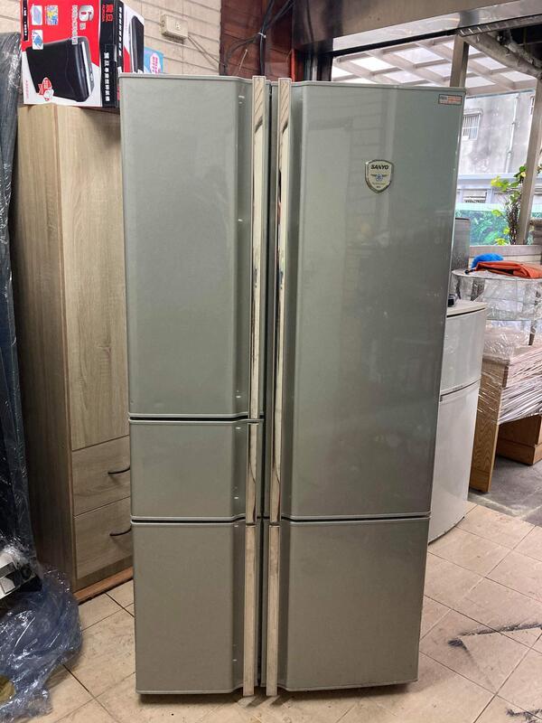 SANYO 三洋700公升五門對開式電冰箱 ( SR-700EH ) 一格二手家具 櫥房家電 懷舊時尚