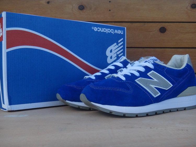 ☆麻吉熊☆ New Balance 996 紐巴倫 藍 麡皮 慢跑走路鞋 余文樂 著用 男款US7~11