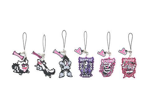 代購 正版 神奇寶貝 寶可夢 寶可夢中心 神奇寶貝中心 吶喊隊 伽勒爾 堵攔熊 直衝熊 蛇紋熊 橡膠吊飾 橡膠 吊飾