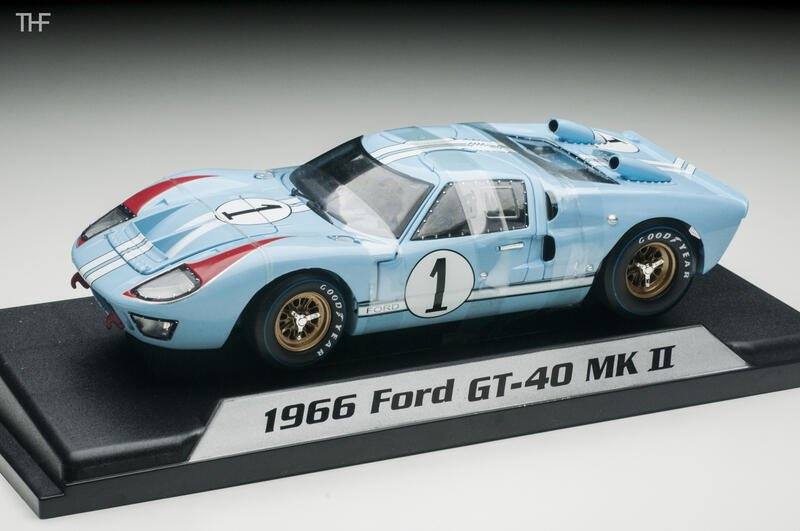Shelby Ford GT40 MK MK II #1 2nd 24h LeMans 1966 1/18