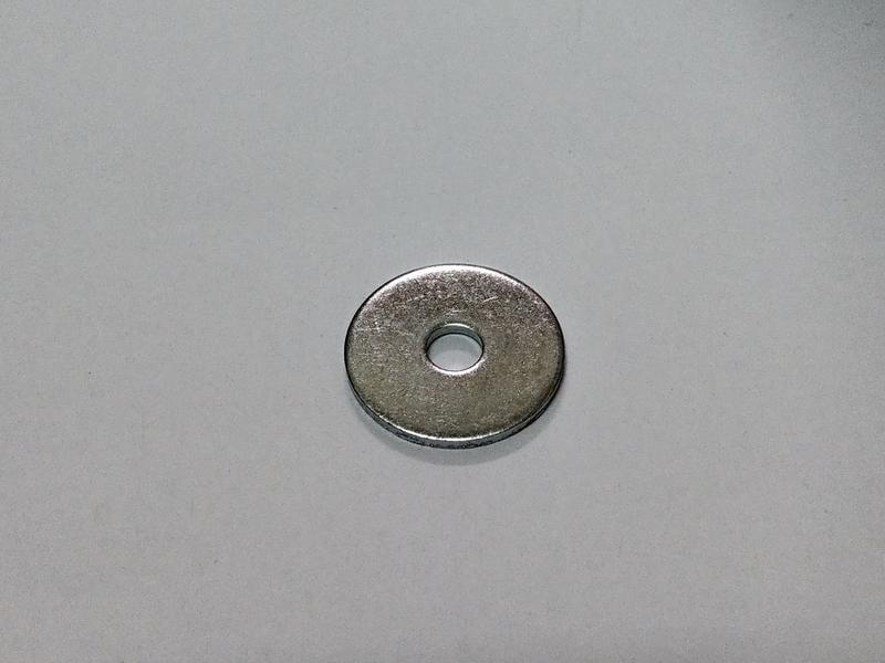 五金 鐵製鍍鋅平華司 平面墊片 M5
