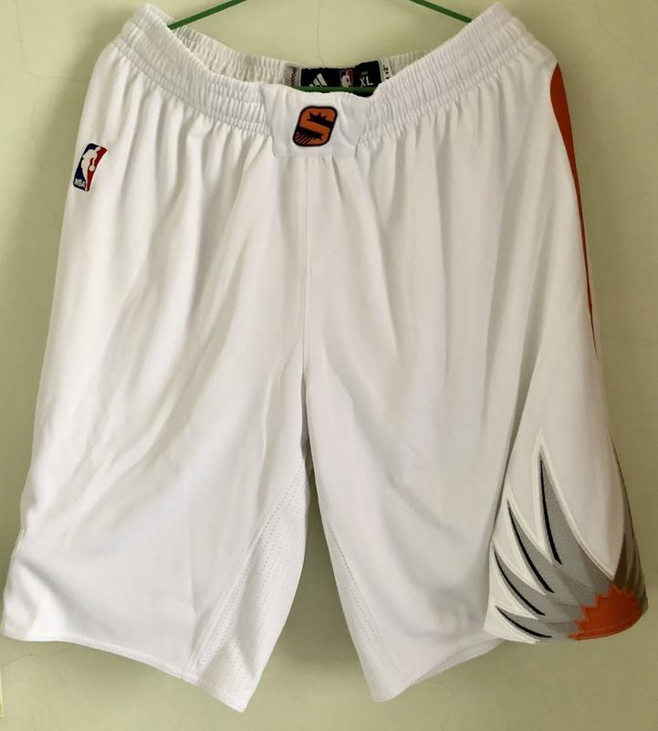 NBA 鳳凰城太陽 GI 球褲 真網眼設計 真實比賽使等級 全新 球衣 Nash Kobe Curry
