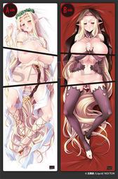 [Mu's 同人枕套代購] [日陰影次] 「黒獣」堕ちた女神 セレスティン 抱き枕カバー (抱枕套)