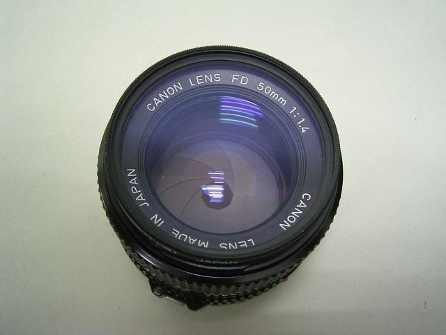 佳能Canon FD 50mm F 1.4大光圈人像鏡