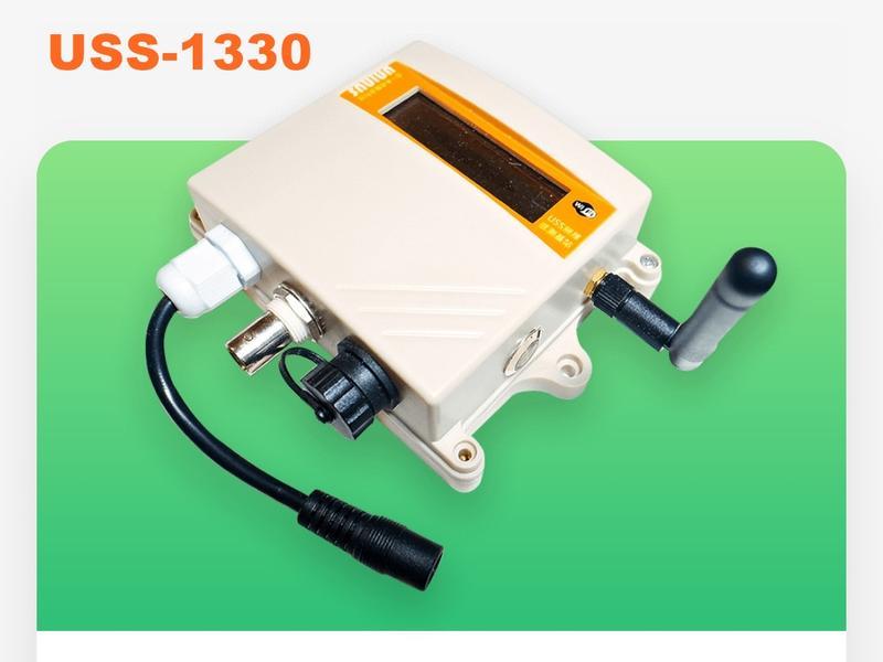 USS-漁用型(直流-螢幕版) 無線WiFi 感測/監控基站 pH(酸鹼) ORP DO(溶氧) EC 感測器 遠程感測