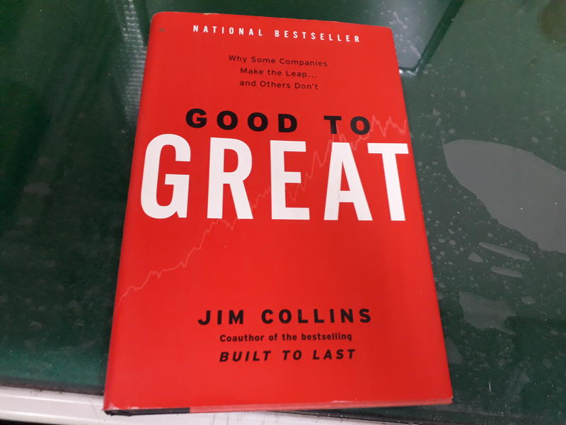 從優秀到卓越 《Good to Great》Jim Collins 無劃記38W