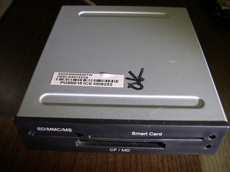 專業電腦量販維修 全新庫存內接式晶片卡讀卡機 清倉價 每台60元