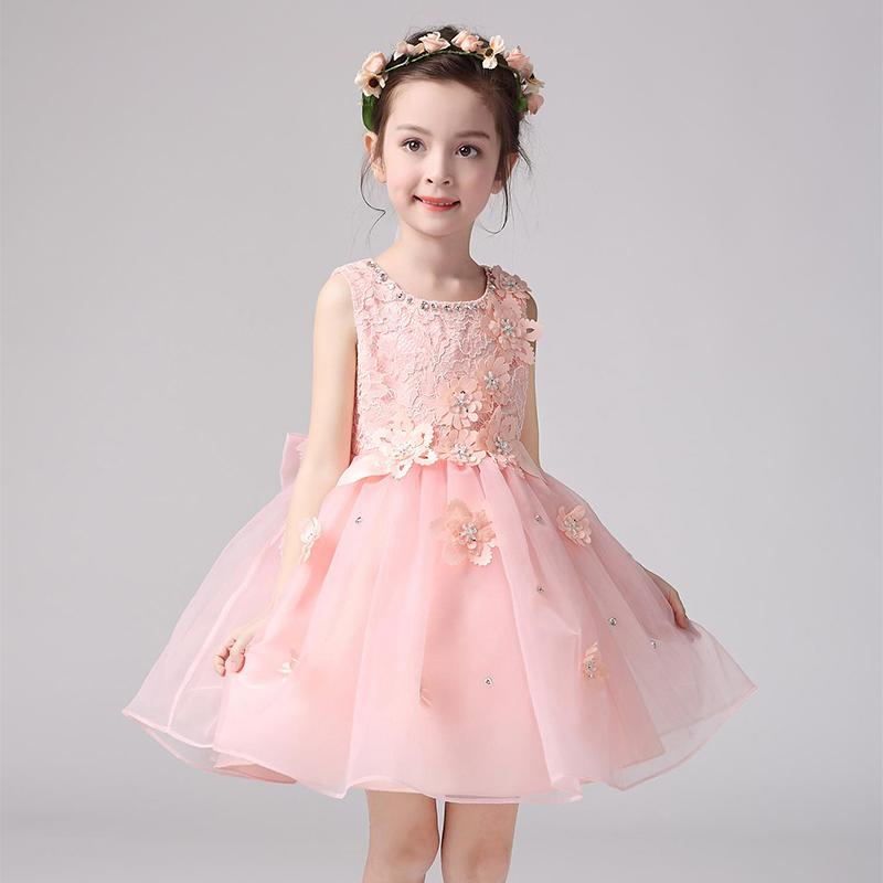 童裝女童連衣裙夏裝 2016新款公主裙 中大童夏季兒童裙 女孩裙子