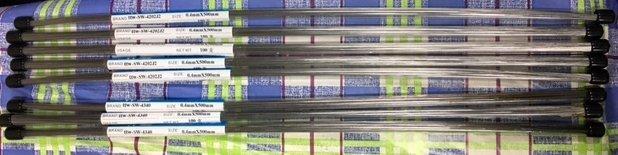 現貨電洽~ 420J2 雷射焊條 0.4 100支~ 鈦 氬焊 電離子 電漿 雷射 合金 不鏽鋼 鑄鐵 鋼鐵 航太