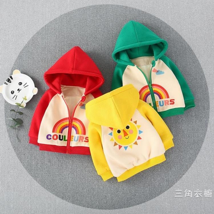 寶寶秋裝外套2棉嬰兒秋冬款外出衣服女加厚0-1-3歲男童棉衣