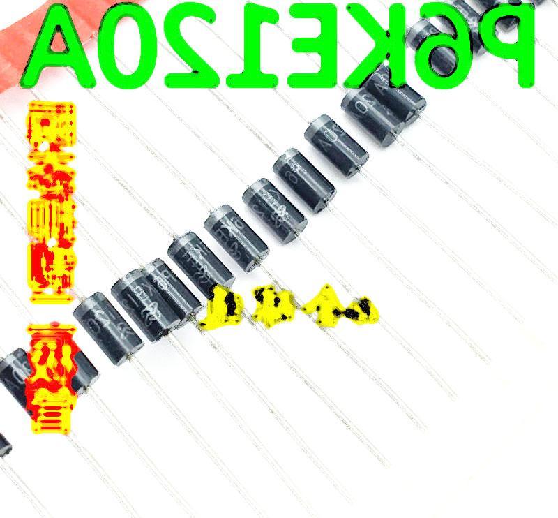 P6KE120A P6KE120CA TVS 瞬態抑制二極體 全新熱賣 155-01592