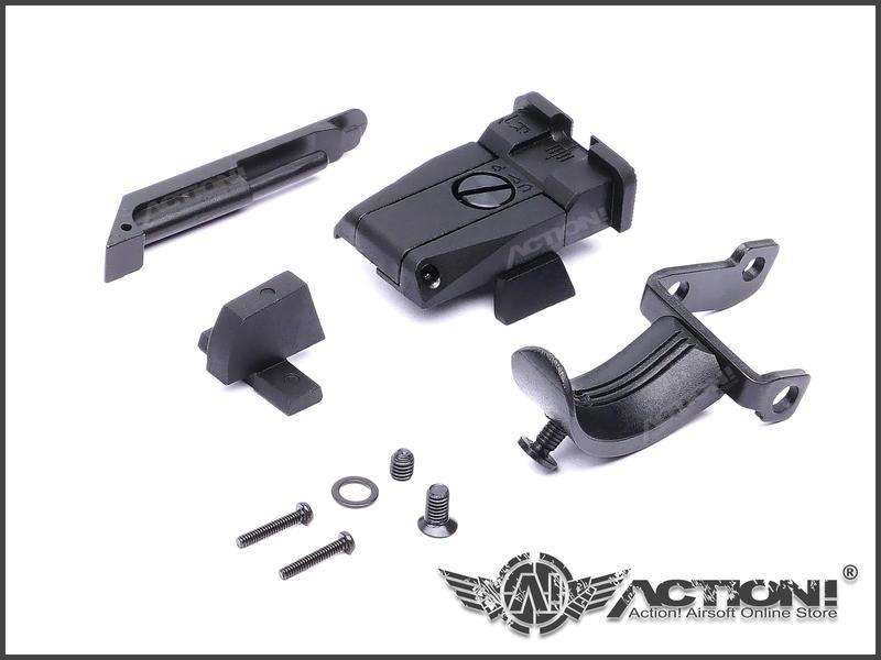 【ACTION!】TASK FORCE - USP MATCH樣式 鋁製CNC滑套組(VFC USP專用)《現貨》