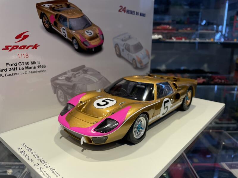 吉華科技@1/18 Spark 18S516 FORD GT40 MK II #5 3RD 24H LE MANS