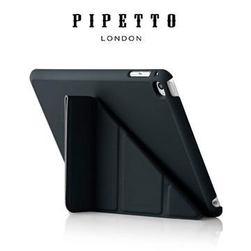 【Noodle3c 數位小舖】英國 Pipetto Origami iPad mini4 黑色 多角度折疉保護殼