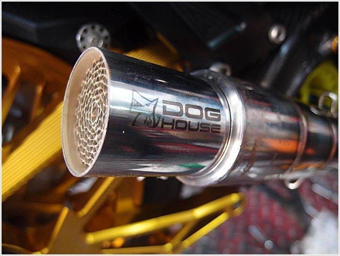 手工廠 排氣管 環保 觸媒 蠍子 T-MAX 番仔管 消音塞 50.8mm/52mm
