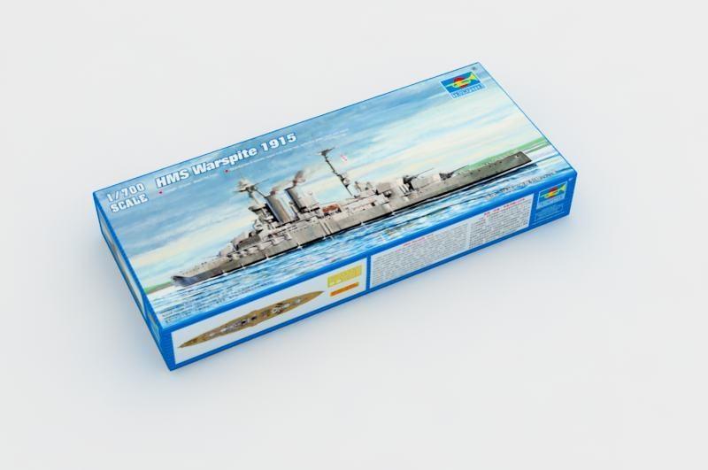 """零件拆賣 1/700  TRUMPETER 英國""""厭戰""""號戰列艦1915年 05780 上下船體"""