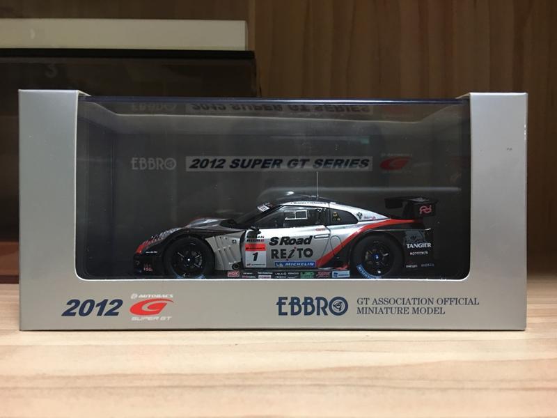 1/43 Ebbro Nissan GT-R Super GT500 2012 S Road  Reito Mola