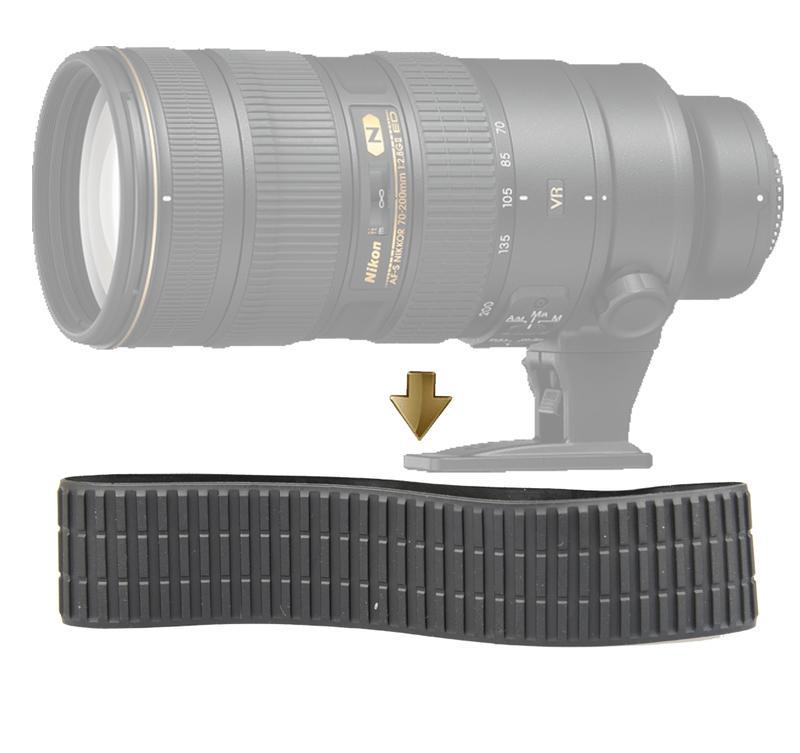 【NRC】Rubber Ring for Nikon 70-200mm f/2.8G ED VR II 小黑六 變焦皮