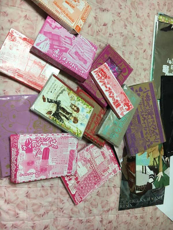 Ribon 可以取貨付款 雜誌附錄 Nakayoshi sho-comi 夢夢 甜芯 贈品