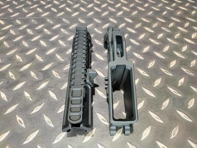 【我愛杰丹田】SLR 鋁合金槍身 SLR CNC 鋁切削授權槍身組