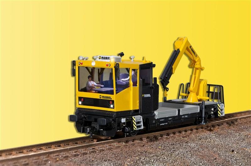 預購中 Viessmann 26110 HO規 ROBEL Track motor car 數位音效車