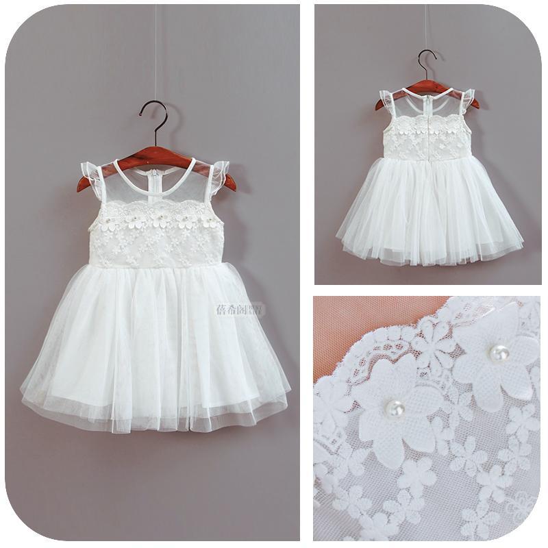 寶寶連衣裙夏女童裙子夏季兒童背心裙嬰兒紗裙公主裙1-2-3歲夏裝