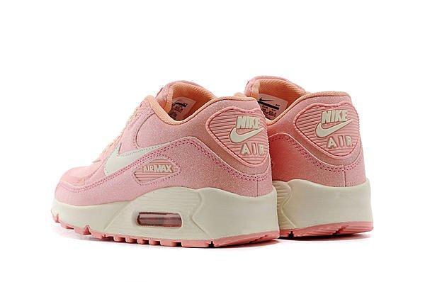 WMNS Nike Air Max 90 女生新款跑步鞋璀璨星光繼小碎花之後又一力作粉白繁星