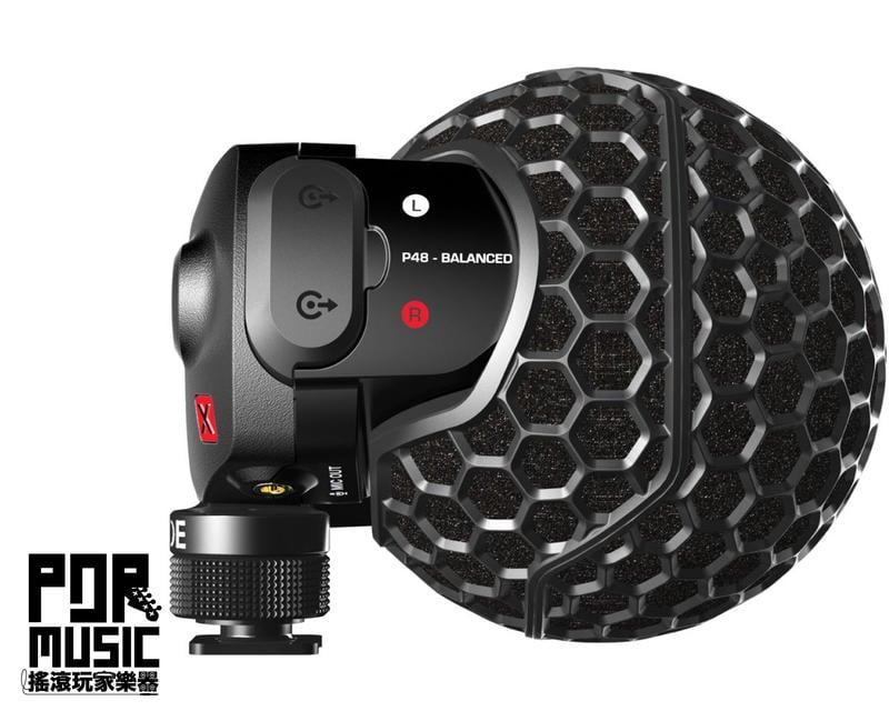【搖滾玩家樂器】全新 公司貨保固免運 RODE Stereo VideoMic X 立體聲麥克風 麥克風 SVMX