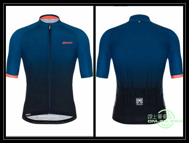 【online bike】線上單車 Santini  光線因果  短袖車衣 太空藍 RAPHA VB MONTON