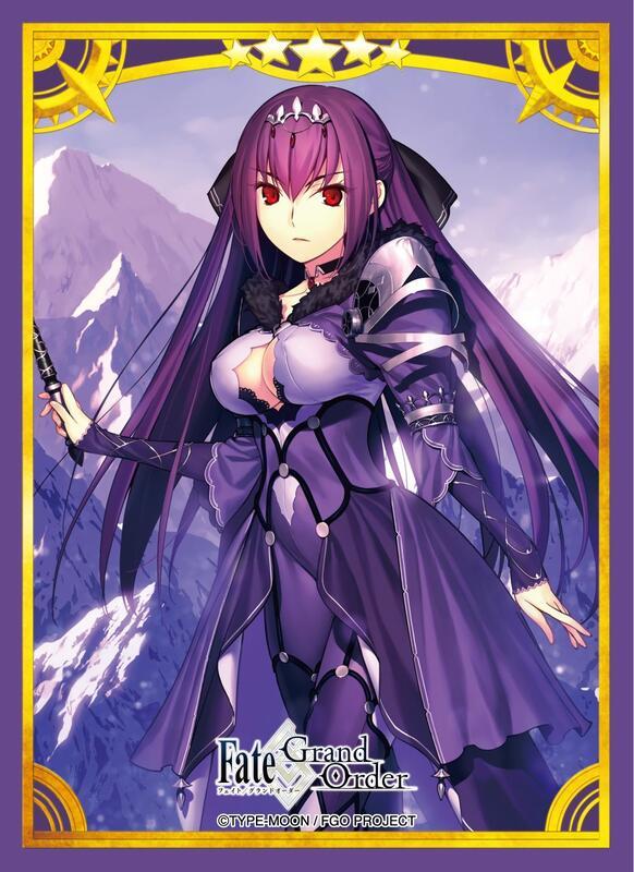 《醉夢》Fate/Grand Order 斯卡哈 收藏 卡套 單張 size:約92×67㎜