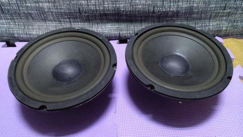 【鹿港】8吋 中低音 單體喇叭 (一對)