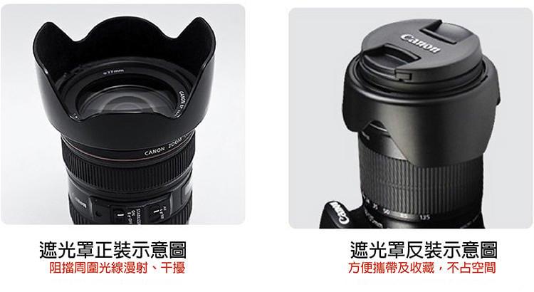 全新現貨@小熊@Canon EW-83H蓮花遮光罩 適EF 24-105mm f/4L鏡IS USM f4.0 1:4
