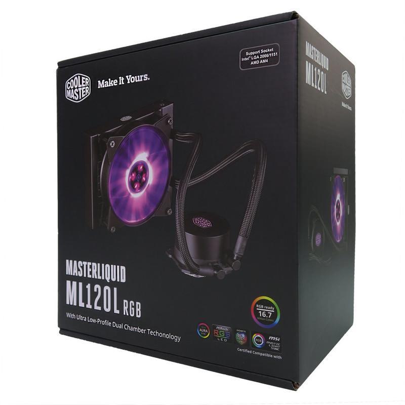 【上震科技】酷媽 MasterLiquid ML120L RGB 一體式水冷散熱器