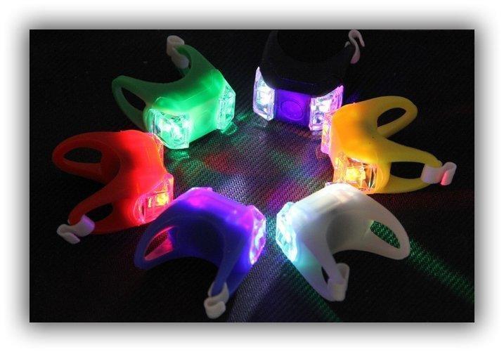 BK20 強亮度 雙LED燈  青蛙燈 果凍燈 老鼠燈 防水防淋 自行車 腳踏車 單車 露營 夜跑