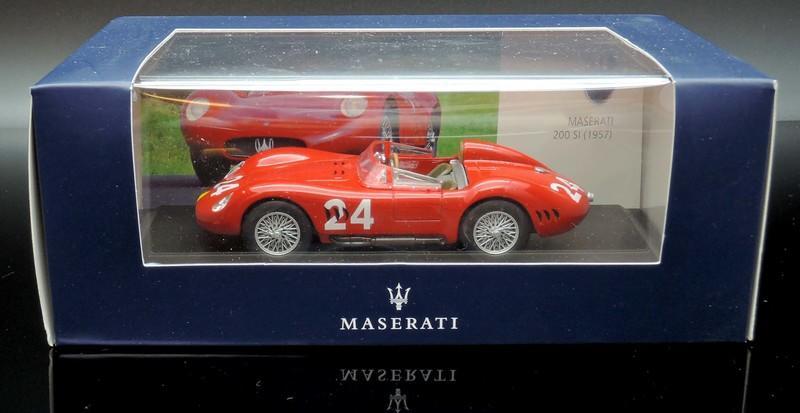 1:43 Leo Models Maserati 200 SI #24 1957