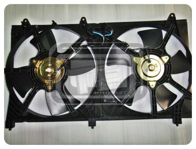 【TE汽配通】三菱 GRUNDER 04後 2.4 水扇總成 水箱+冷氣 風扇總成 正廠型 台製外銷件