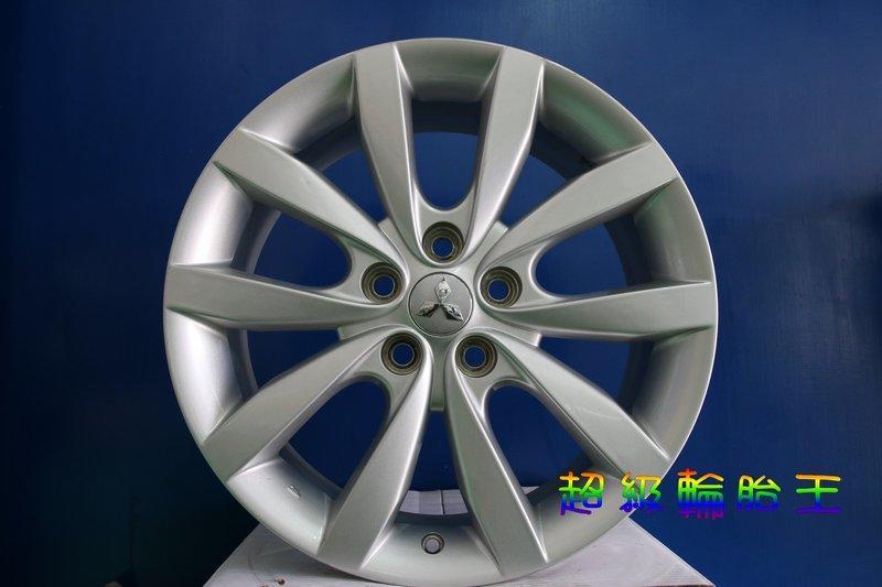 超級輪胎王~ 三菱原廠.FORTIS 18吋拆車鋁圈~18X7 ET46 [已售出]