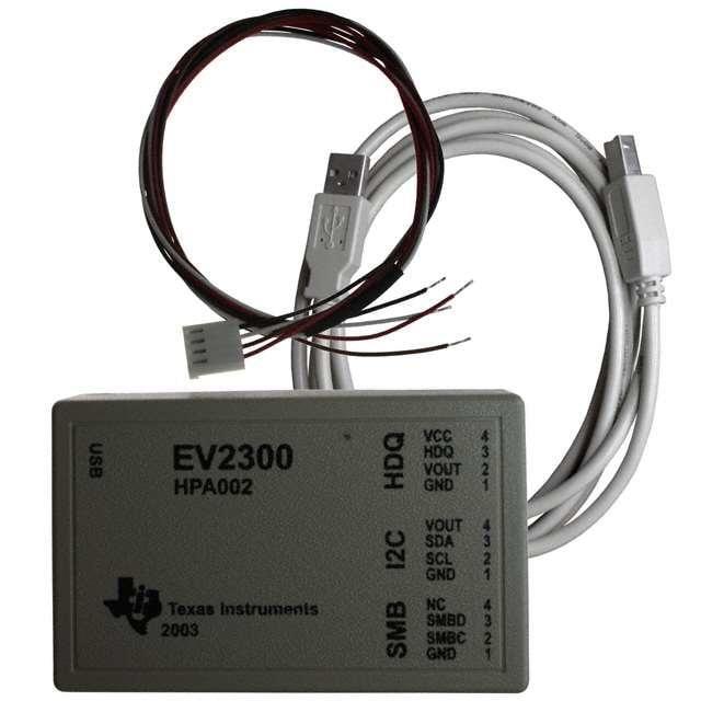 EV2300(TI)TI EVM-評估模組 - 介面板:USB 至 DQ/I²C/HDQ/SMBus=>全新原裝現貨