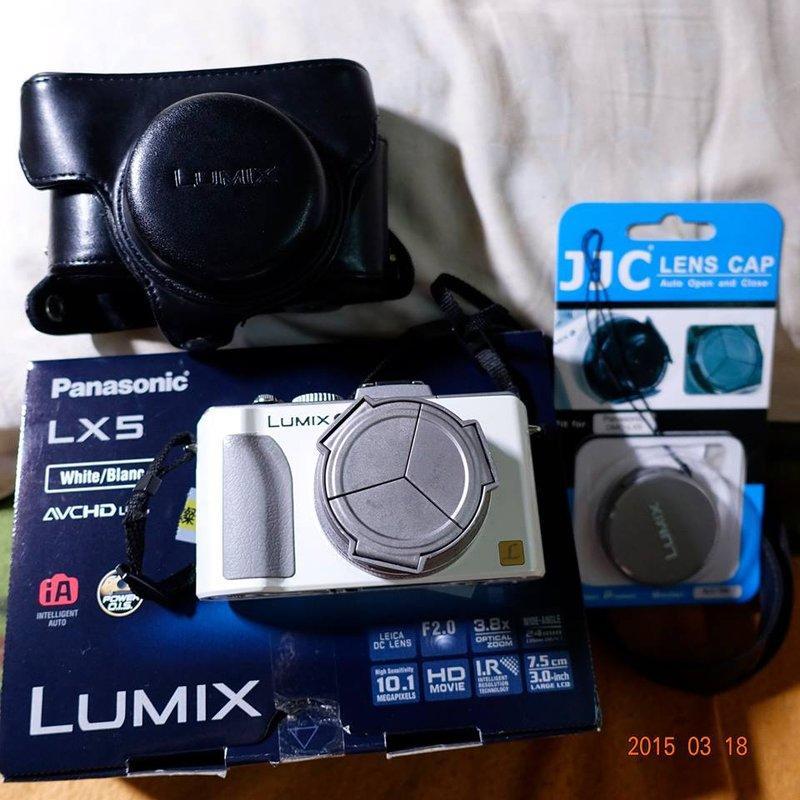 Panasonic Lumix DMC-LX5  公司貨(已過保固)