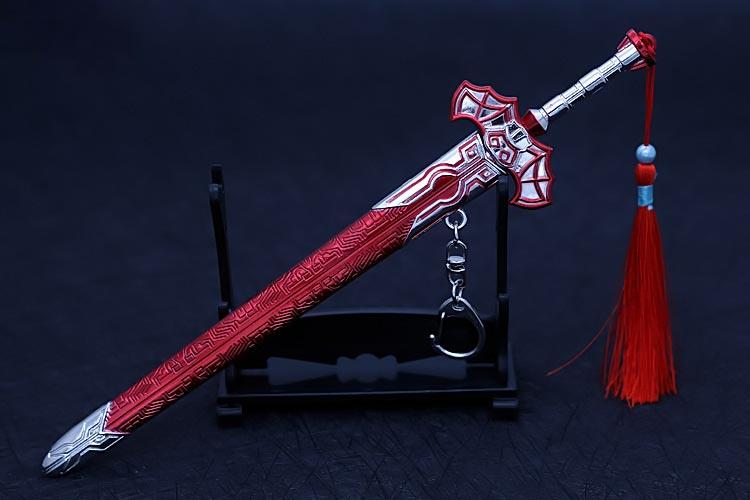 天行九歌 血衣侯白亦非劍--白劍 22cm(長劍配大劍架.此款贈送市價100元的大刀劍架)