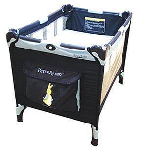 新款奇哥Joie新比得兔雙層遊戲床附蚊帳彼得兔雙層遊戲床Peter Rabbit嬰兒床