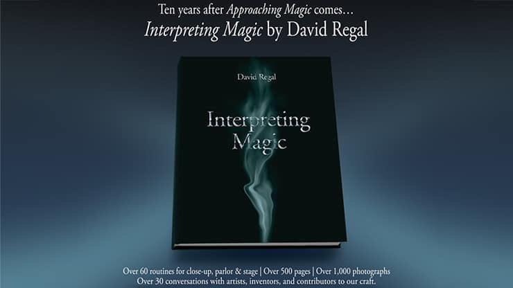 現貨最後一本!Interpreting Magic by David Regal
