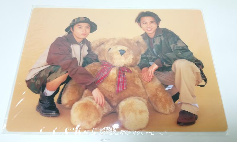 """KinKi Kids 墊板 1996KinKi Na""""GO""""ya """"TO""""kyo 3ヶSHOW 周邊 現貨 T19918"""