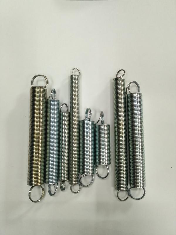 拉簧規格表(短)線徑0.4mm~0.8mm