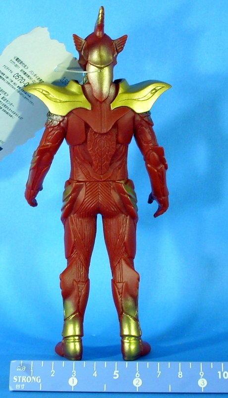 日版 假面騎士Wizard系列軟膠怪人01 Wizard 不死鳥 約16公分高
