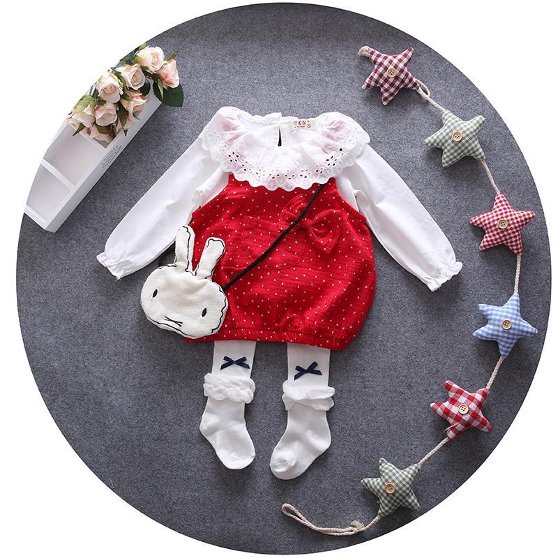 2016夏裝嬰兒童裝6個月女寶寶春夏季連衣裙女童公主短裙子0-1-2歲