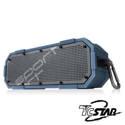【吾居吾宿】T.C.STAR 極限運動防水型藍牙喇叭 防水喇叭 音響 播放器 TCS1110BU