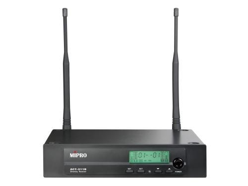 【好康投影機】MIPRO ACT-311B/ACT-32H 半U單頻道自動選訊接收機~來電詢問享優惠~歡迎洽詢~