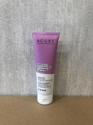 美國頂級天然保養ACURE 煥顏青春潔面霜 [薄荷橄欖油]   清潔 洗臉  適合熟齡膚質 118ml