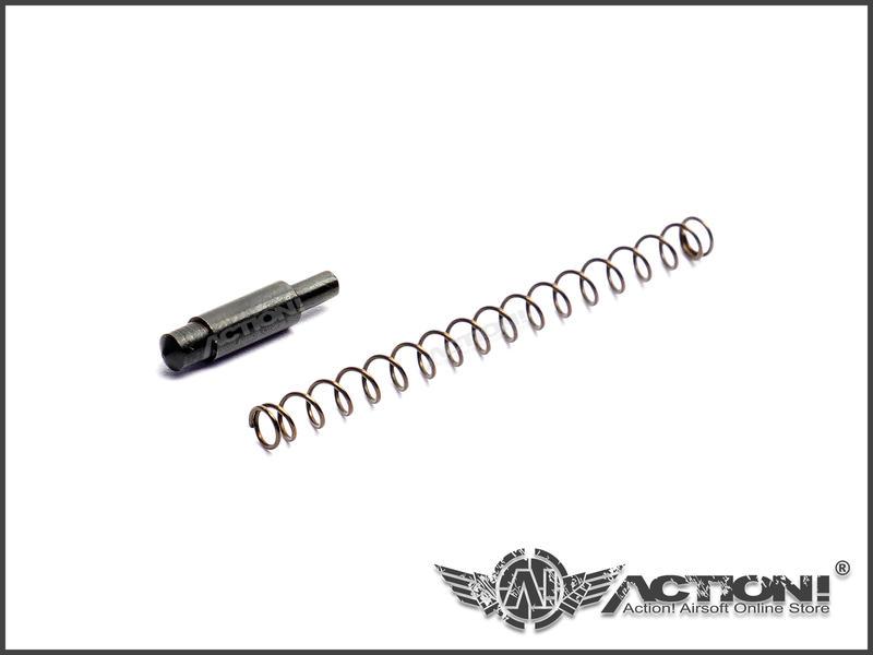 【Action!】現貨)VFC - M4/HK416/HK417 GBB氣動槍專用零件《槍身插銷定位卡榫+彈簧》